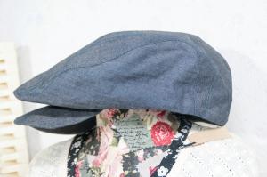 ハンチング帽(サイド)