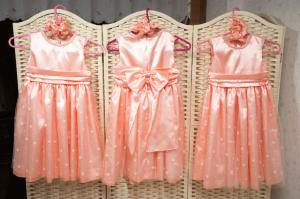 ドレス3つ