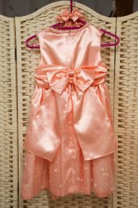 ドレス(後ろ)