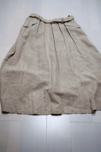 スカートからパンツ(before)